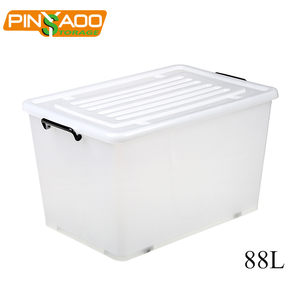 Pinyaoo Waterproof clear plastic shoe box wholesale container plastic