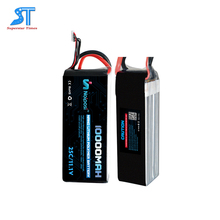 China factory rechargeable 11.1v 10000mah lipo battery 25C rc helicopter battery for DAV/ Car