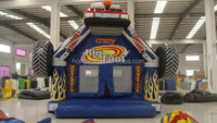 Popular newest wheel inflatable bounce house, Chinese inflatable bouncer for sale