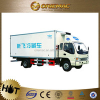 JAC refrigerator van truck for meat and fish