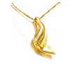 18k italian gold chain men necklace, wholesale gold filled jewelry