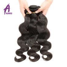 Brazilian Pure Natural Full and Intact Cuticle Crochet braiding hair, Wholesale price Double drawn Virgin Human hair extension