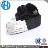new black hot selling mens military canvas belt