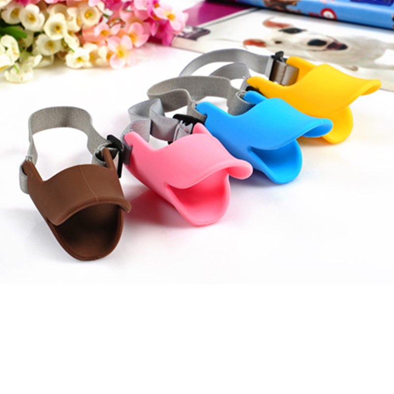 So Popular Anti Bite Dog Pet Muzzles Silicone Muzzle