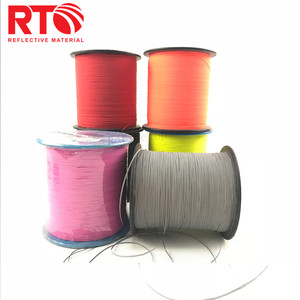 Knitting Polyester Double Side Reflective Yarn