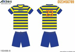 Breathable fashion kids first choice soccer uniform