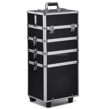 All in1 Hairdressing Makeup Beauty Nail Case Cosmetic Trolley Case