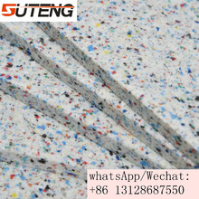 Shredded Rebond polyurethane block foam from high quality recycled foam scrap