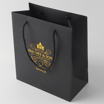 Junye manufacturer luxury design fashion branded supplier custom hair extension paper packaging gift bag with your own logo