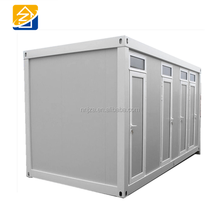 Portable shipping prefab shower toilet mobile prefabricated container portable washrooms