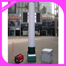 Moveable and rechargeable LED light portable inflatable illuminating LED lamp light tower