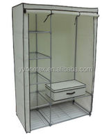 Portable Easy Assembly folding wardrobe