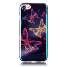 2017 hotsale IMD Blue Light TPU Custom Cell Phone Case For iPhone 5 5s