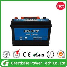 12v 60ah Maintenance Free MF Largestar Car Battery
