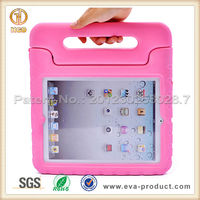 New portbale big grips cover case for ipad2 3 4 with stand
