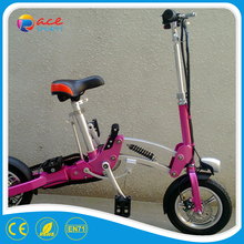 Quality aluminum frame two wheel electric scooter with 250W motor