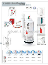 Powerful flush valve with UPC mark wire control flush valve with 3NPSM thread