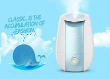 Air moisture evaporative humidifier