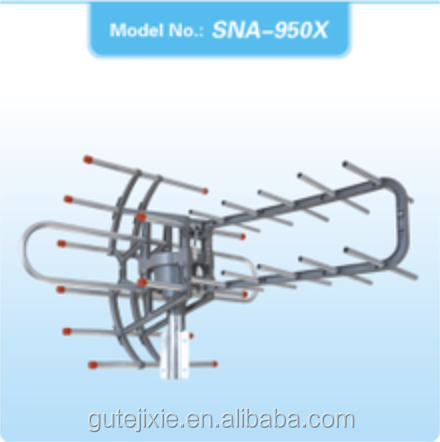 UHF VHF Rotating outdoor antenna
