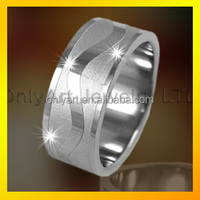 high quality small order fashionable stainless steel ring