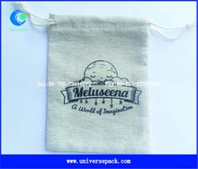 factory price handmade linen bags with logo