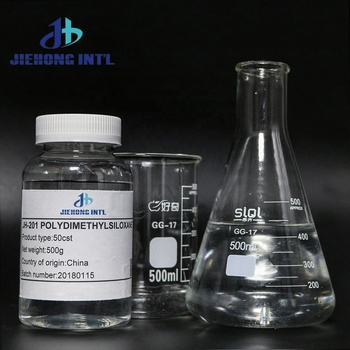 Methyl silicone oil / Polydimethylsiloxane PDMS oil For Lubrication CAS NO 63148-62-9