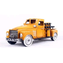Creative Antique Handmade Top Quality Bubble Diecast Pickup Trucks Model For Home Decoration