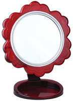 Supply cheap small plastic desktop cosmetic mirror from china manufacturer