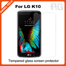 2016 new premium For LG K10 Screen Protector, Tempered Glass Screen Protector for LG K10 accept paypal