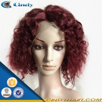natural looking human hair south africa sexy red curly lace front wigs