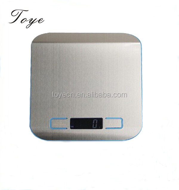 Newest Product low price Stainless steel Automatic Anti-fingerprint Technology Vegetables touch Keys scale