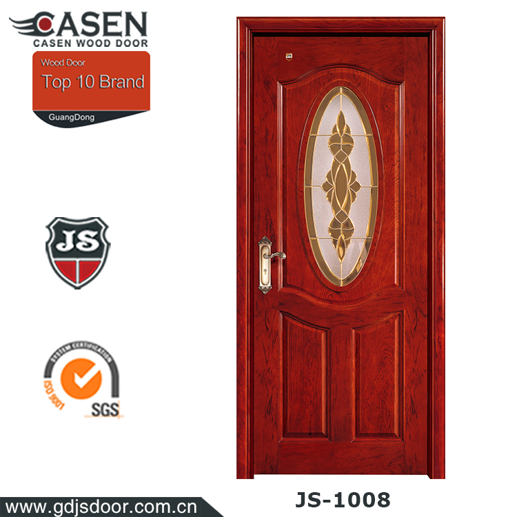 new modern design used commercial glass door for enry door wood door