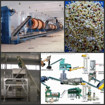 Professional Technology Commercial BB Fertilizer Blender Machine