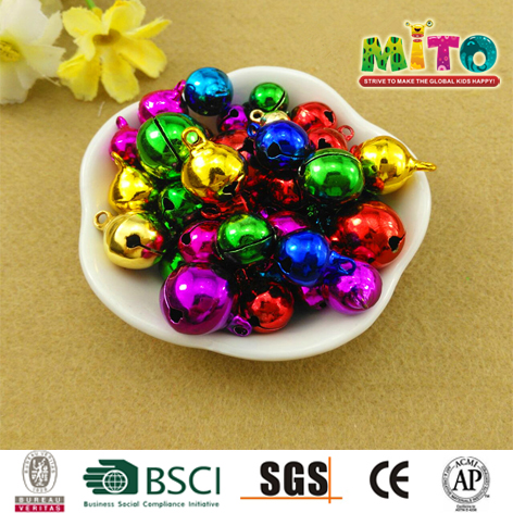 Wholesale multi-colored metal cross bells