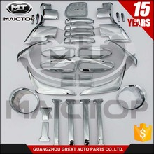 Complete Full Set of Exterior Chrome accessories fit for TOYOTA PRADO FJ150 chrome car 2014