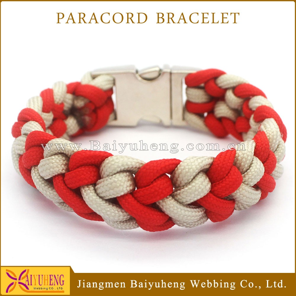 hot sale snap on rubber bracelet custom rope magnetic bracelet