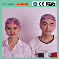 Non-Woven/SMS/Surgical/PP/Mop/Crimped/Pleated/Strip/Medical Disposable Clip Mob Cap,
