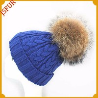 Fashion Customized Knitted Beanie Soft Lady Hat Winter Bling Cap And Hat