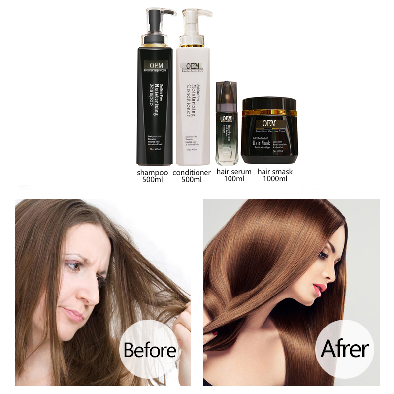 Hot selling salon use hair repair serum essence oil hair serum