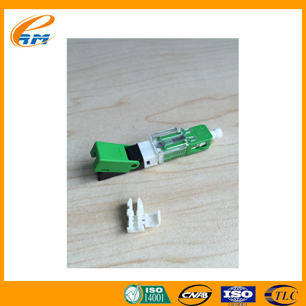 Field assembly high quality fiber optical sc fast connector