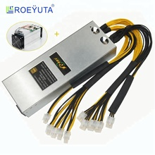 Roeyuta switching power supply 1600w Model JLN-1600S psu for bitmain antminer s9 s11 and PinIdea RR200