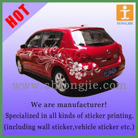 Model Car Sticker/Model Car Decal
