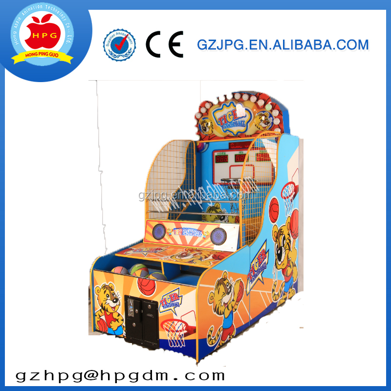sports&entertainment indoor sports coin operated games other Amusement park basketball Tiger basketball