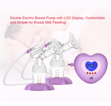 Food Grade Custom Design double breast pumps milk suckers large auto suction and massage for factory use