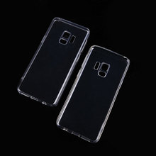 2018 Amazon Hot Selling transparent clear tpu case S9 Plus Cover, For Samsung Galaxy S9 Phone case