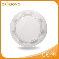 2-wire infrared heat detectors fire alarms sensor with circular LED indicator