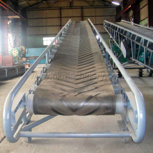 High Inclination Angle Belt Conveyor / Adjustable Conveyor System