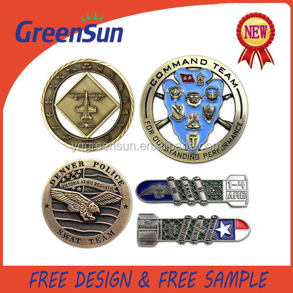 Latest Fashion Nice looking novelty challenge coins