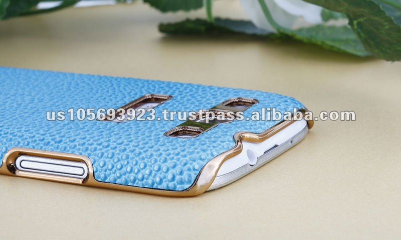 Super real leather case cover for Sumsung galaxy S3 I9300