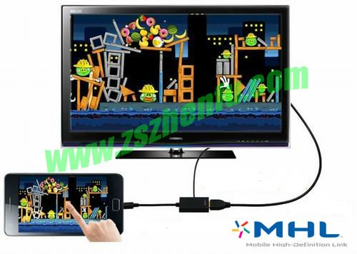 mhl cable for nokia huawei smartphone